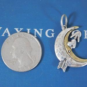 Waxing Poetic Archer Moon Pendant